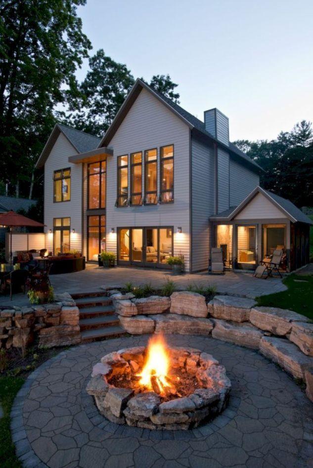 Awesome Backyard Fire Pit Ideas 25