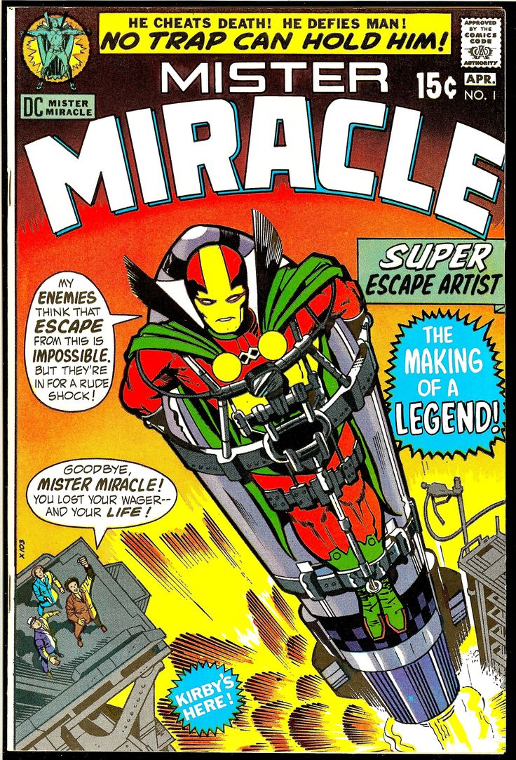 100+most+valuable+comics  Mister Miracle #1