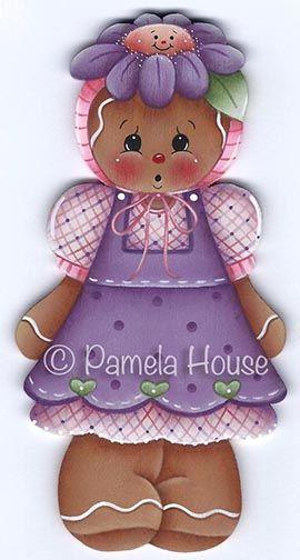 Flower Hat Ginger Girl Pattern