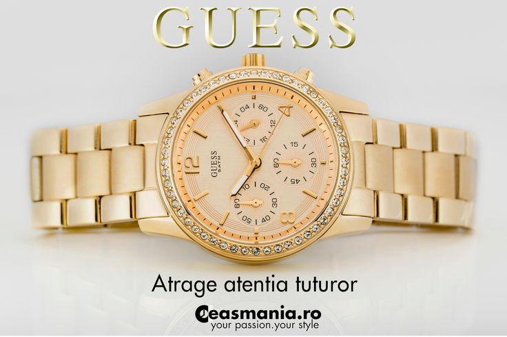 Atrage atentia tuturor!  http://ceasmania.ro/ceasuri-guess/1099-guess-guw16567l1.html
