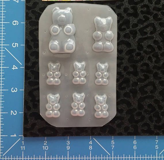 Moldes de osos gummy objetos productos ideas y for Objetos para el hogar