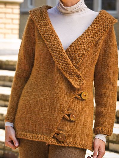 17 Best images about Free Cardigan & Jacket Knitting Patterns on Pinteres...