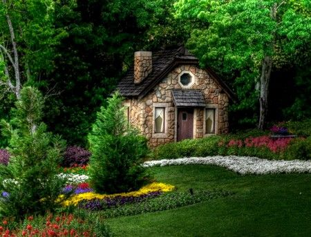 9 Best Country Stone Garden Cottage In The Woods Images On