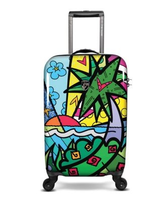 Roberto Britto luggage - Journey to Brasil