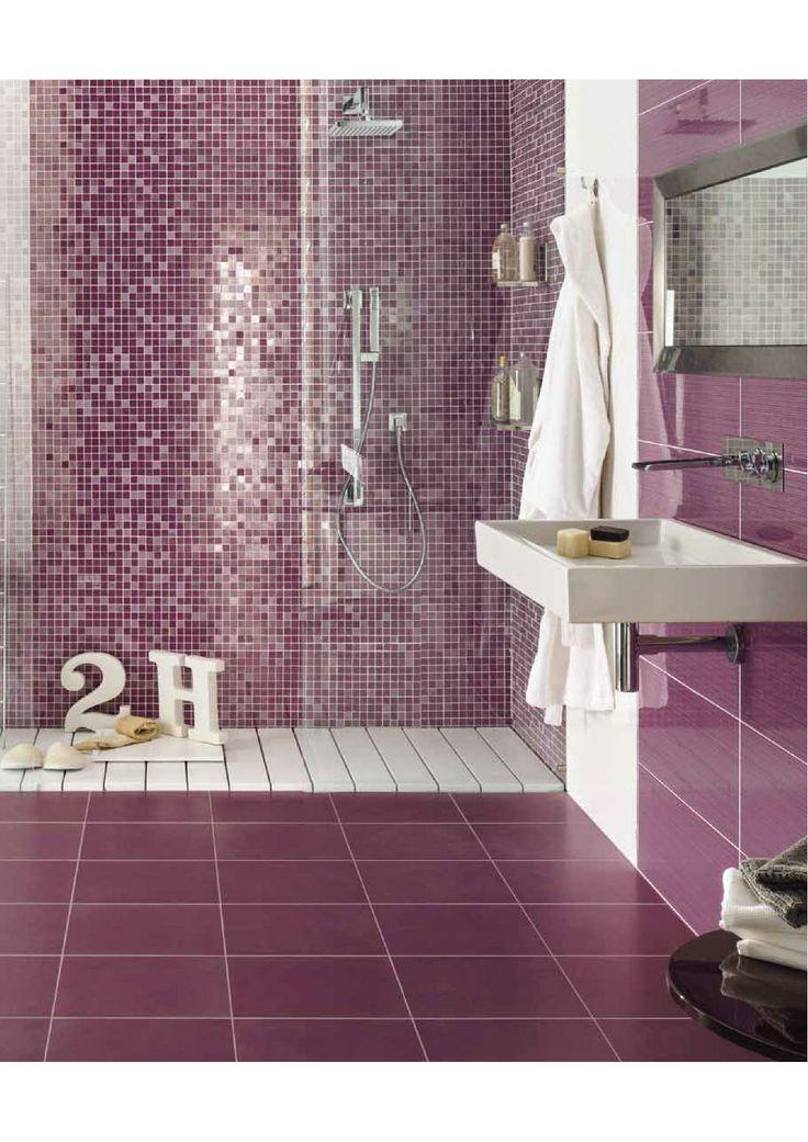 Bath (Novabell ) Color of the year 2014--Lovely! #conceptcandieinteriors  #bathroom #girly