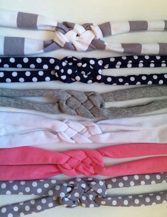 Jersey Knit Headbands by RoseofStitches