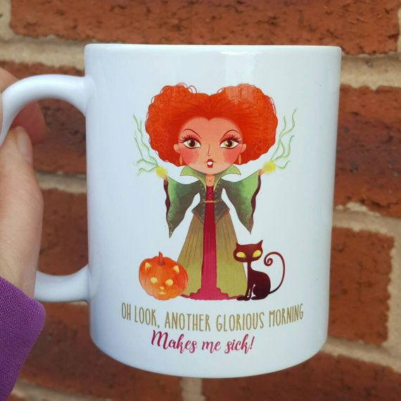"This accurate AF coffee mug. | 17 Magical Products For ""Hocus Pocus"" Fans"