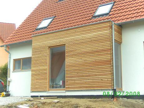 Hille Henfenfeld WindfangTreppenhausAnbau HausHauswandAussenHaus IdeenArchitekturProjekteGarten