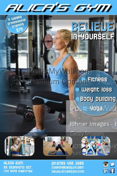 23 best Kickboxing Posters images on Pinterest Patterns and Comics - fitness templates free