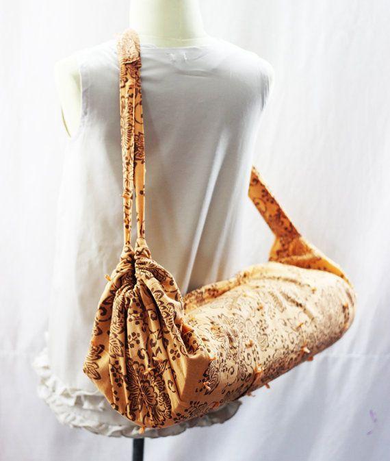 Bloem Yoga Mat tas Yoga tas Yoga Tote Yoga tas vrouwen Handmade.Design riem…