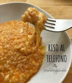 Per leggere la ricetta del riso al telefono rosso, non dovete far altro che cliccare sulla foto e... buona lettura a tutti!