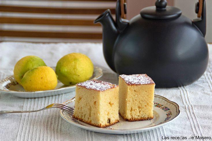 Las recetas de Masero.: Bizcocho esponjoso de limón