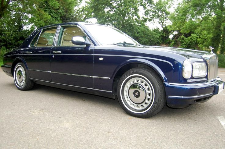 1998 R Rolls Royce Silver Seraph. Finished in Peacock Blue with Cotswold interior piped in French Navy and French Navy carpets with Cotswold piping. Full Service History. Slightly over average mileage but this car really looks like new inside and out. Only £36.250 Full Details: http://hanwells.net/rolls-royce-select/rolls-royce-silver-seraph/1998-r-rolls-royce-silver-seraph-finished-in-peacock-blue-36-250