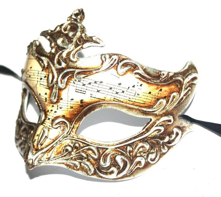 Venetian Masquerade Masks | Silver 'Fleur De Lys' Venetian Masquerade Mask
