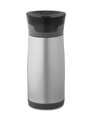 Keep gravy hot by serving in a thermal tumbler  --Not just for coffee anymore!!!  Contigo Aria Thermal Tumbler
