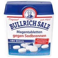-in USA- Bullrich Salz - Heartburn and acid-related medicine - 180 pills