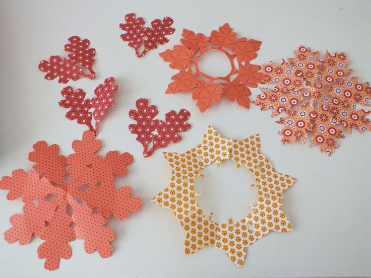 őszi levélkoszorú-nyomtatható sablonnak