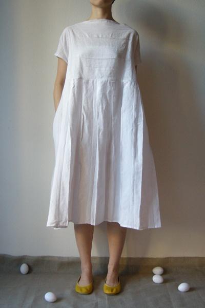 Daniela Gregis Pleated Auriga Dress