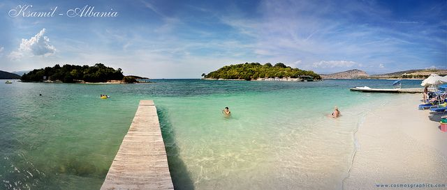 Ksamil - one of the most popular destination in the south of Albania