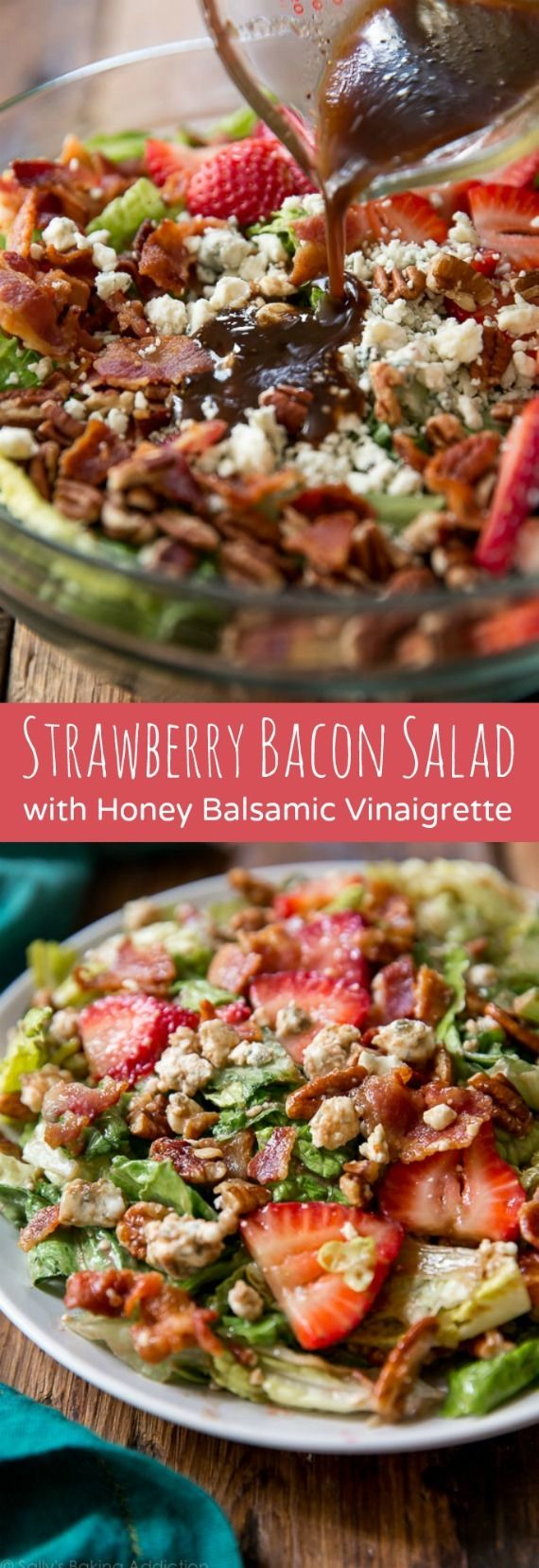 This is one of those salads that's not only perfect for entertaining, but for a quick weekday lunch or a light dinner! Recipe on sallysbakingaddiction.com