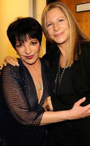 streisans+clinton+2013   Barbra Streisand, Liza Minnelli Sing Marvin Hamlisch Hits at Musical ...