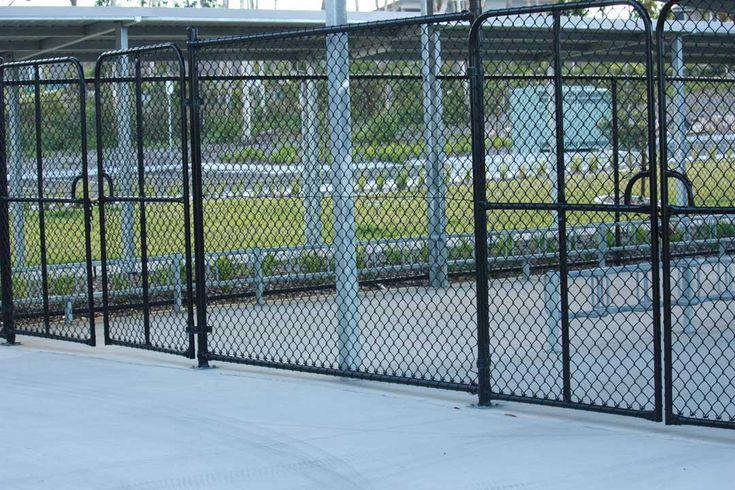 Commercial Chainwire PVC Gates