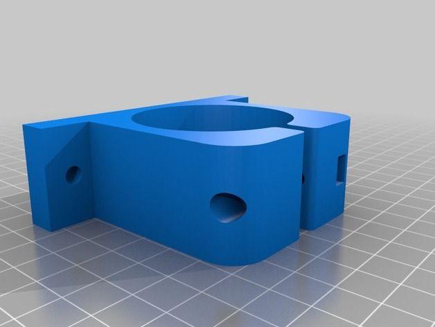 Dremel 395 Holder (V2) para la superficie de la mesa o tornillo de banco por msburko - Thingiverse
