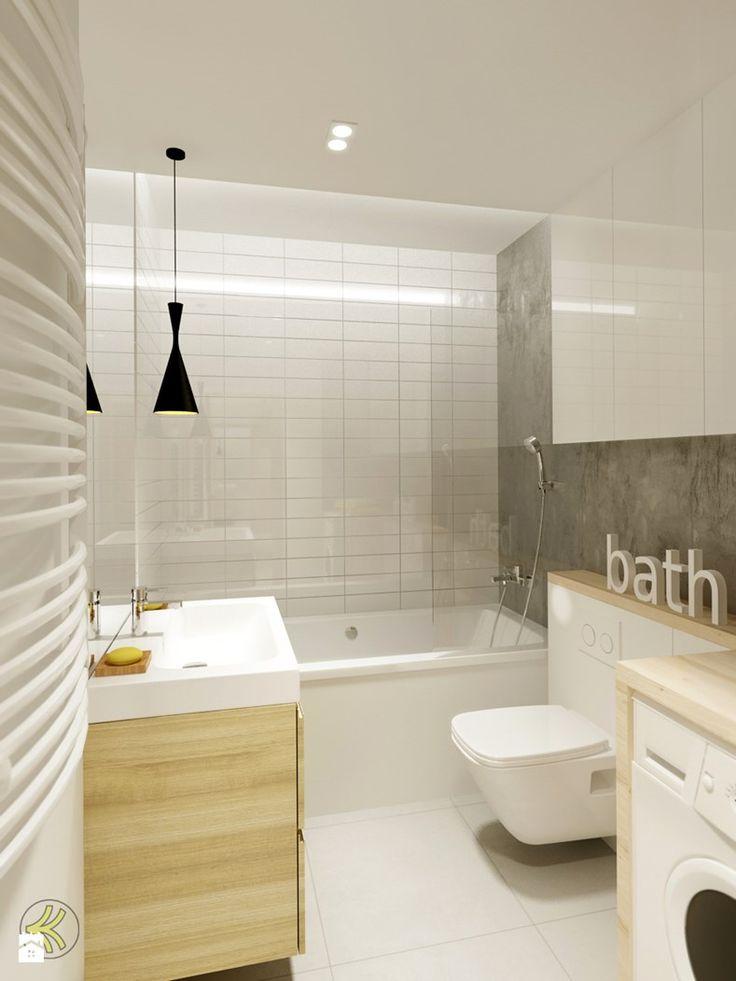 Łazienka - Łazienka - Styl Minimalistyczny - 3Deko Wnętrza