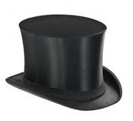 Jan. 15.  The 145th anniversary of the Top Hat.  Designed and first worn by John Hetherington, a London clothier.
