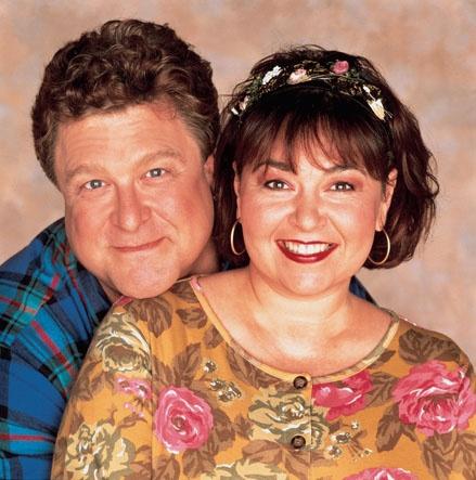 Dan & Roseanne- John Goodman and Roseanne Barr