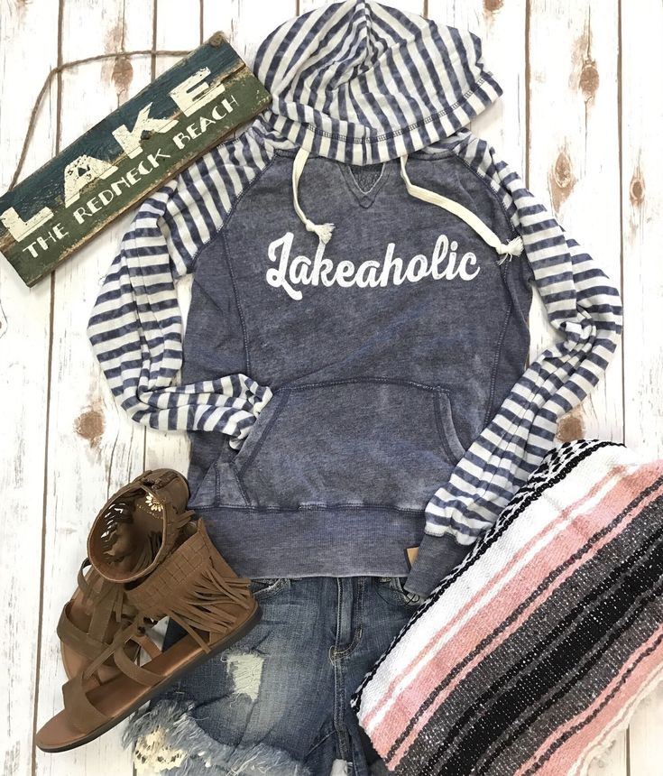 Lakeaholic, lake life hoodie, summer hoodie, nautical hoodie