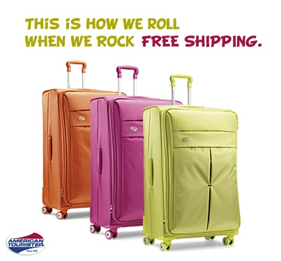 From now till Friday (12/7), receive FREE standard shipping all all Spinner luggage! Shop here: www.americantourister.com. (some exclusions apply) #deals
