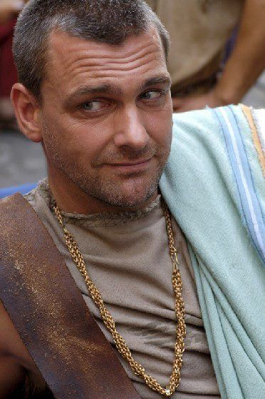 Ray Stevenson. ..from Rome as well! My fav, Titus Pullo