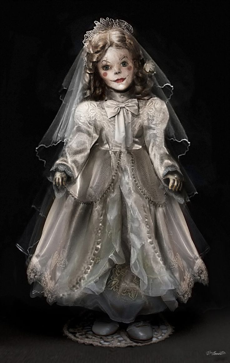 The Conjuring Creepy Annabelle Doll Concept Art