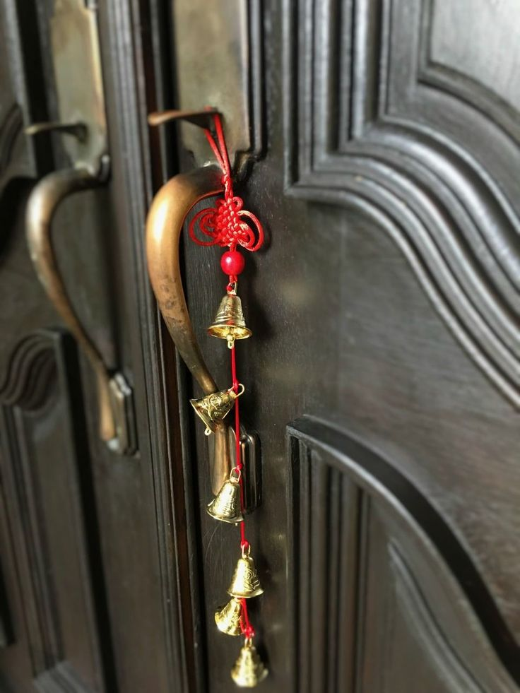 Energize your entrance with feng shui bells. They generate positive energy through the power of sound and herald prosperity and happiness while you're entering your home
