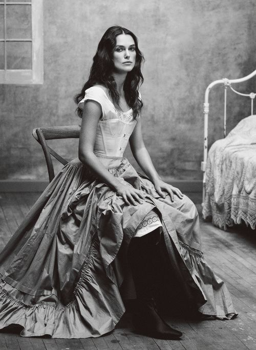 "keiranatalie: "" "" Keira Knightley (dressed as Thérèse Raquin) for Vogue, 2015 "" """