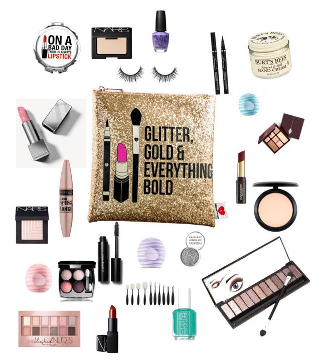 """""""Makeup"""" by katniss4117-1 on Polyvore featuring beauty, Sephora Collection, Neiman Marcus, Burberry, Maybelline, David Jones, MAC Cosmetics, NARS Cosmetics, Eos and Bobbi Brown Cosmetics"""