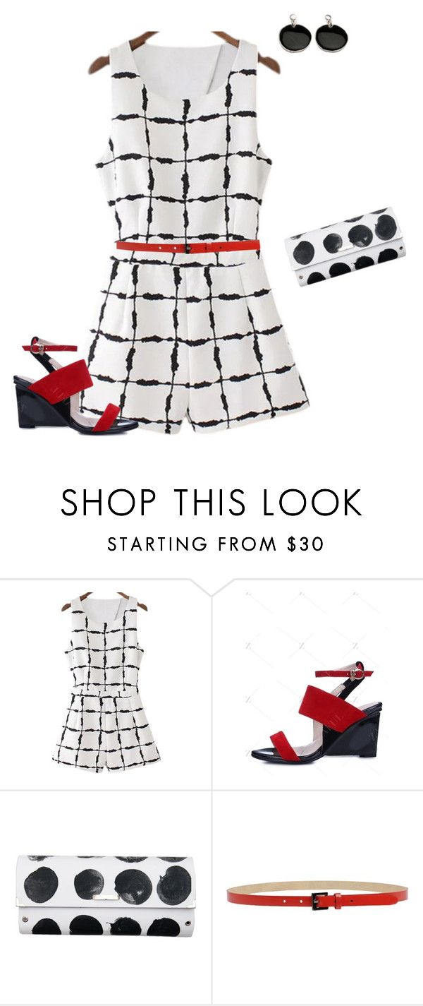 """Untitled #2009"" by amy-devito-haustetter ❤ liked on Polyvore featuring Spanaki and Caractère"