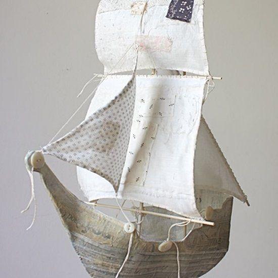 Festa, Sabor & Decoração: Barco feito de embalagem de sabão ou cereal