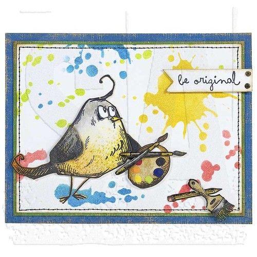 Bird Crazy Stamps & Dies - Tim Holtz