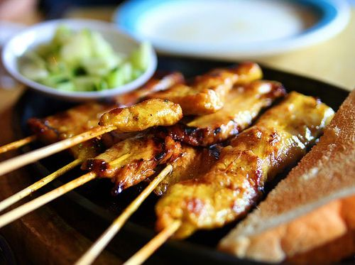 ★ Recette Poulet à la sauce de cacahuètes - Recettes asiatiques & Restaurants asiatiques ★ Asie360