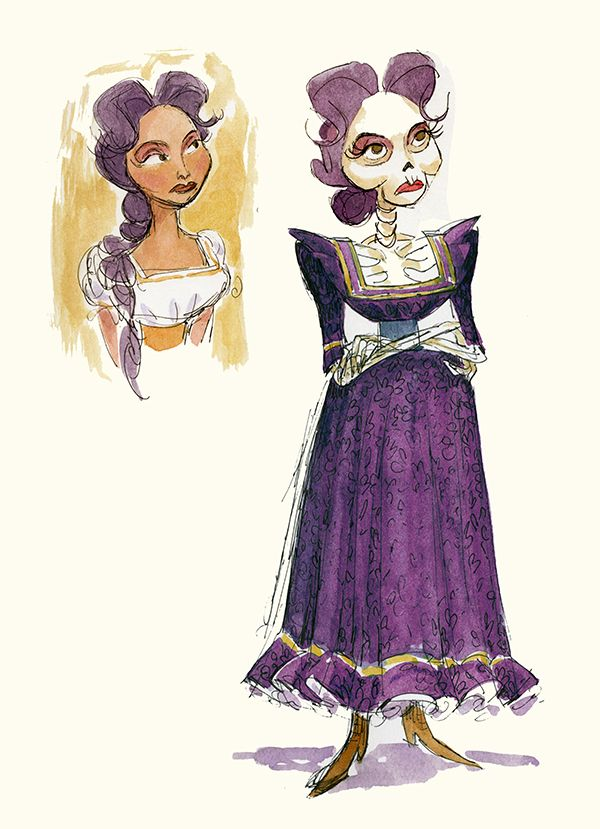 15 Pieces of Beautiful Coco Concept Art That Are a Feast for Your Eyes | Oh My Disney