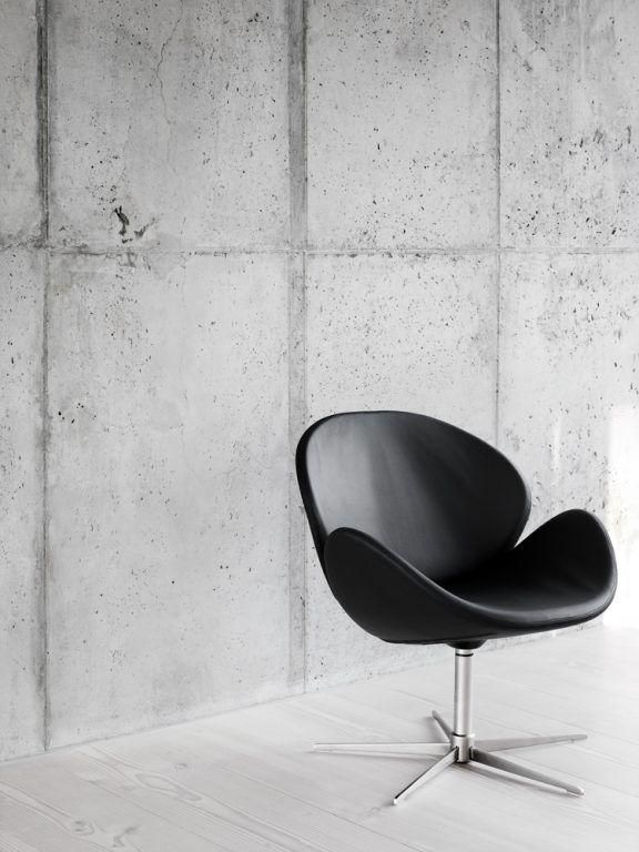 MInimalistischer Einrichtungstil Mit Schlichten Farben Und Wanden Aus Beton Ideas For Livingroom Wohnzimmereinrichtung