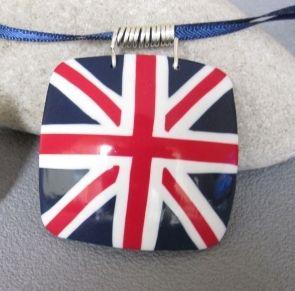 Le drapeau anglais en Fimo {tuto} - Autres bricoles - Pure Loisirs - The English flag
