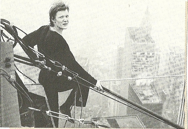 1974 New York City: Philippe Petit a top the World Trade Center: World Trade Center