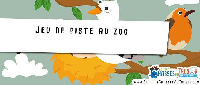 idées jeu de piste au zoo pour les petits