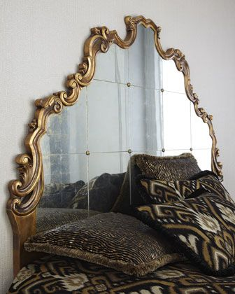 """Boushant"" Headboard by John-Richard Collection at Horchow."