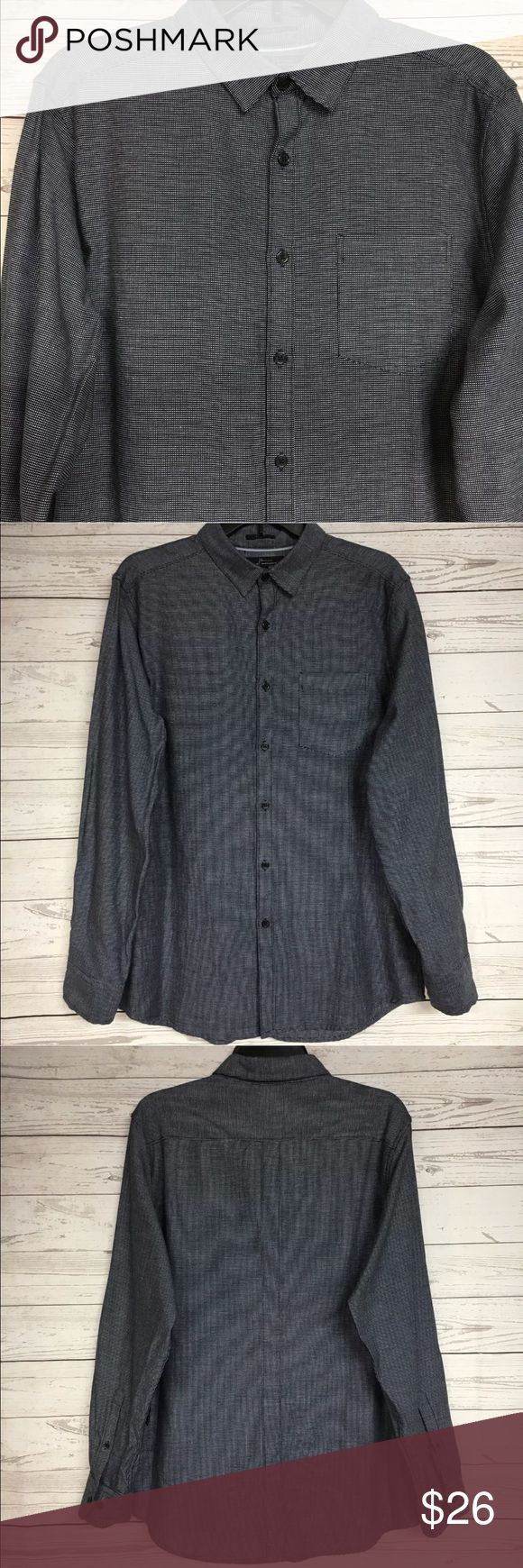 """Marc Anthony slim fit long sleeve gray NWT XXl. Brand new with tags. Please refer to images for more details about this item. If you have any questions lease feel free to ask. Measure,nets are taken with the item laying flat.  Armpit to armpit 23"""" Shoulder to hem 29"""" Marc Anthony Shirts Tees - Long Sleeve"""