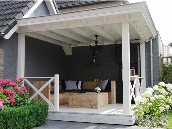 Veranda color combi casa loto pinterest terrasses for Lampe exterieur pour pergola