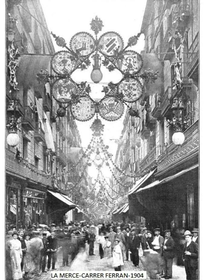 Carrer Ferran 1904, Barcelona
